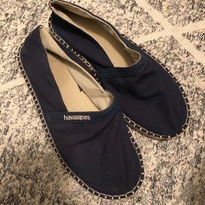 Havaianas slip on shoes